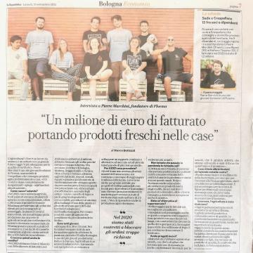 Ci leggi su @repubblica_bologna!  Se non sei riuscit* a comprare il giornale, ecco qui l'articolo completo.  Zoomma😁😘